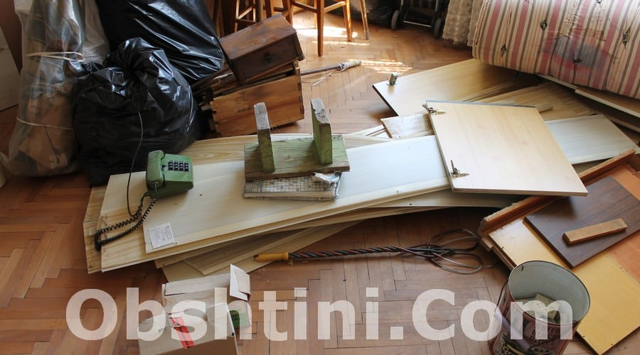 Трошене и извозване на мебели в Ботевград