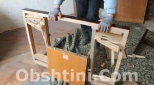 Извозване на стари мебели в Община Бургас
