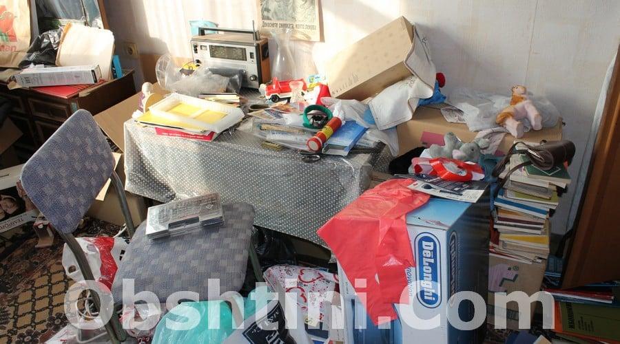 Почистване на апартамент с отпадъци в Пловдив