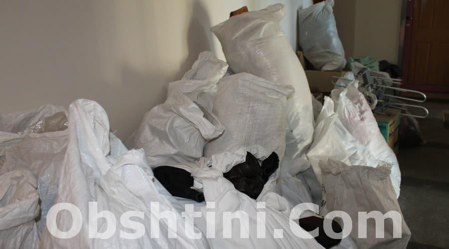 Извозване на отпадъци в Община София