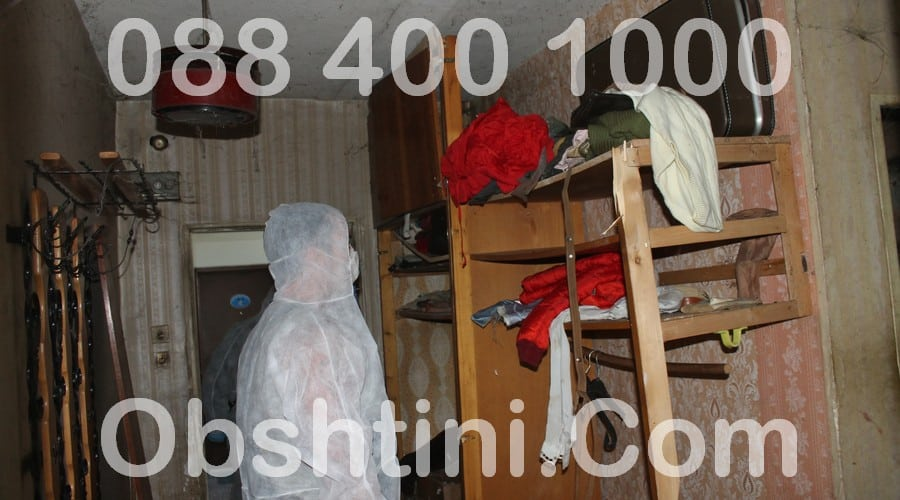 Почистване на клошарски апартамент в Община София