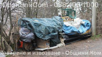Извозване на отпадъци от парцели и градини