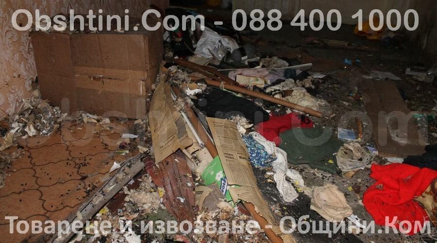 Извозване на боклуци в Община Бургас