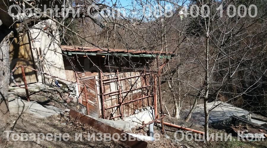Почистване на дворове и терени в Благоевград